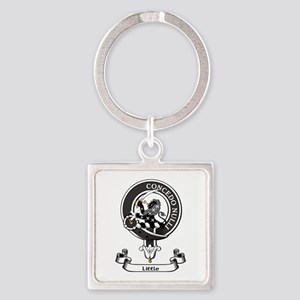 Badge-Little [Dumfries] Square Keychain
